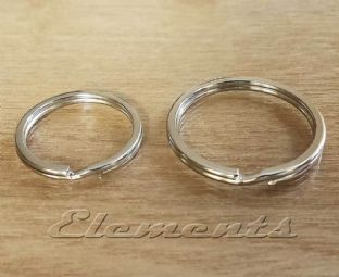 Nickel Plated Steel Flat Split Rings